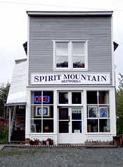 Spirit Mountain Artworks Gallery storefront